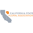 California State Floral Association Logo
