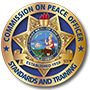 California Commission on Peach Officers Standards and Training Logo